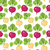 radish seamless pattern red and white radishes endless background texture vegetable vector illu stock photo © lucia_fox