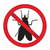赤 · にログイン · 禁止 · フライ · 一時停止の標識 · 昆虫 - ストックフォト © lucia_fox