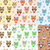 kids seamless pattern with owls owl endless background texture children s backdrop vector illust stock photo © lucia_fox