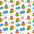 baby toys seamless texture childrens wallpaper background vector illustration stock photo © lucia_fox