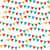 kids carnival seamless pattern with bunting garlands bright festive background texture with ribb stock photo © lucia_fox