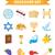 Yahudilerin · hamursuz · bayramı · karikatür · stil · tatil · toplama - stok fotoğraf © lucia_fox