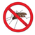 red sign ban mosquito stop mosquito insect vector illustration stock photo © lucia_fox