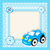 childrens toy car greeting card greeting card with space for text children frame vector illustra stock photo © lucia_fox
