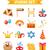 gelukkig · carnaval · ingesteld · ontwerp · communie · iconen - stockfoto © lucia_fox