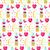 Valentin · nap · nap · vektor · terv · rózsaszín · végtelen · minta - stock fotó © lucia_fox