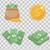 vettore · stile · set · finanziare · icone · isolato - foto d'archivio © lucia_fox