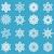 Noël · géométrique · illustration · cadre - photo stock © lucia_fox