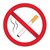 red sign smoking ban stop cigarette nicotine vector illustration stock photo © lucia_fox
