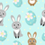 tavşanlar · paskalya · yumurtası · soyut · ayarlamak · siluetleri · tavşan - stok fotoğraf © lucia_fox