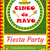 cinco de mayo invitation template flyer mexican holiday postcard vector illustration stock photo © lucia_fox