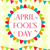 april fools day vector holiday laughing card poster vector illustration stock photo © lucia_fox