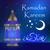 ramadan kareem greeting card with lanterns template for invitation flyer muslim religious holiday stock photo © lucia_fox