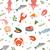 kreeft · mariene · voedsel · illustratie · helling - stockfoto © lucia_fox