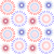 independence day of america seamless pattern july 4th an endless background usa national holiday r stock photo © lucia_fox