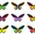 invázió · pillangók · szett · tíz · tarka · szépség - stock fotó © lucia_fox