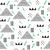 三角形 · パターン · ベクトル - ストックフォト © lucia_fox