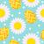 かわいい · イースター · 卵 · 花 · エンドレス - ストックフォト © lucia_fox