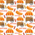 hot dog seamless pattern endless texture fast food repeating background vector illustration stock photo © lucia_fox