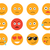 emoticon vector illustration set emoticon face on a white background different emotions collection stock photo © lucia_fox