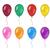 ballonnen · illustratie · verschillend · kleuren · liefde · cartoon - stockfoto © lucia_fox