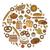 búza · rajz · ikonok · pékség · kenyér · bolt - stock fotó © lucia_fox