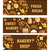 bakery products banner flat style set of different breads and pastries horizontal board with insc stock photo © lucia_fox