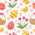 かわいい · イースター · 鳥 · 卵 · エンドレス - ストックフォト © lucia_fox