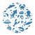 mar · animales · vector · subacuático · cartoon · agua - foto stock © lucia_fox