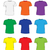 mens t shirts design template set multi colored t shirts hand drawing style mockup shirts vector stock photo © lucia_fox