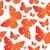 orange butterfly seamless pattern summer mood background vector illustration stock photo © lucia_fox