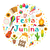 festa junina set of icons in a round shape brazilian latin american festival collection of design e stock photo © lucia_fox