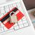 hitelkártya · lakat · billentyűzet · biztonság · ekereskedelem · számítógép - stock fotó © luckyraccoon