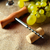 hordó · dugóhúzó · fából · készült · asztal · textúra · étterem - stock fotó © luckyraccoon