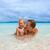 anne · bebek · oynama · plaj · plaj · kumu · aile - stok fotoğraf © luckyraccoon