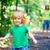 dziewczynka · dobre · apetyt · młodych · rodziców · mały - zdjęcia stock © luckyraccoon