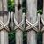 hek · achtergrond · oude · huis · huis · hout - stockfoto © luckyraccoon