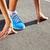 corredor · ejecutando · zapatos · mujer · femenino · correr - foto stock © luckyraccoon