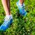 runner · scarpe · da · corsa · primo · piano · donna · a · piedi · nudi · femminile - foto d'archivio © luckyraccoon