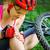 joelho · dor · bicicleta · ferimento · mulher · articulações - foto stock © luckyraccoon