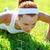 fitness · vrouw · buiten · strand · geschikt · vrouwelijke - stockfoto © luckyraccoon