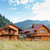 hotel · montanhas · Ucrânia · casa · nuvens · edifício - foto stock © luckyraccoon