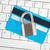 notebook · hangslot · tonen · internet · Blauw - stockfoto © luckyraccoon