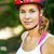 portrait of happy young cyclist in sport clothes and helmet stock photo © luckyraccoon