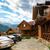 pueblo · montanas · Foto · pequeño · valle · vacaciones - foto stock © luckyraccoon