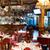 geleneksel · iç · ışık · cam · restoran - stok fotoğraf © luckyraccoon