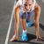 prêt · commencer · course · jeunes · musculaire · athlète - photo stock © luckyraccoon