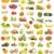 frescos · frutas · blanco · alimentos · manzana · verde - foto stock © luiscar