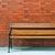 houten · bank · geïsoleerd · witte · stoel - stockfoto © luissantos84