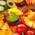 comida · mexicana · nachos · chile · salsa · placa - foto stock © lunamarina